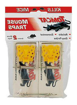 Tomcat 0373524 Wooden Mouse Trap, 2 pack