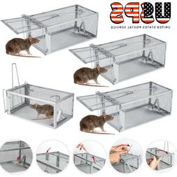 1-10 Live Animal Cage Mouse Trap Rat Hamster Catch Control B