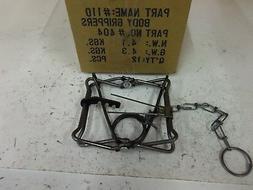 1 Bridger 110  Body Grip Traps   Trap  Muskrat  Mink