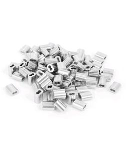 1/16 Aluminum Double Ferrules Sleeves Traps Snare Parts~1000