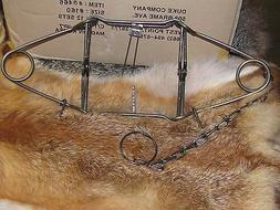 2 160 body traps raccoon muskrat mink