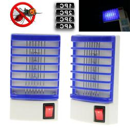 1-4pcs Indoor LED Electric Mosquito Fly Bug Insect Trap Zapp