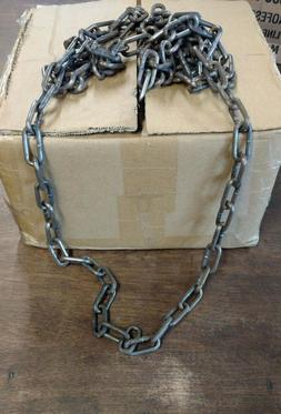 100' OF PREMIUM #2 CHAIN STRAIGHT LINK CHAIN. TRAPPING COYOT