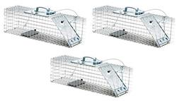 Havahart 1084 Easy Set One-Door Cage Trap for Rabbits, Skunk