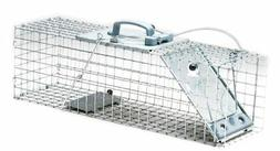 Havahart 1084 Easy Set One-Door Cage Trap for Rabbits, Skunk