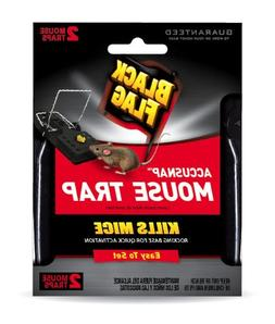 Black Flag Mouse Snap Traps, 2-Count