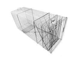Tomahawk Live Trap 110B - Dog, Coyote Rigid Trap with One Tr