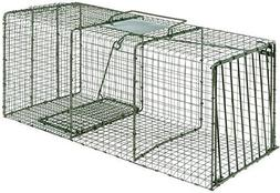 "Duke HD 1114 X-Large Cage Trap 36"" x 15"" x 14"" for Large Rac"