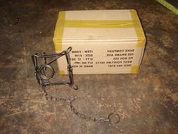 12 new 110 conibear body grip traps