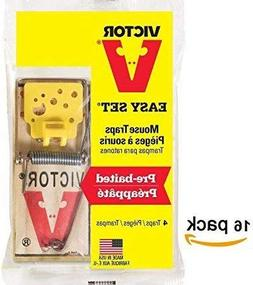 Woodstream 16 Victor Mouse Snap Traps M325 Pro - Holdfast Ma