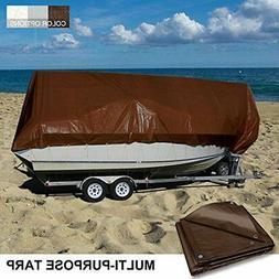 Coarbor 16'x20' Waterproof Tarp Poly Heavy Duty Mil Protect