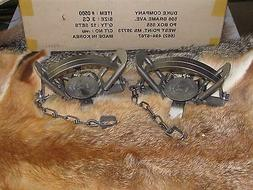 2 3 coil spring traps beaver fox