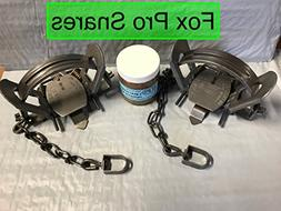 FPS 2 Duke #2 coil spring offset traps with 1 FREE jar of 3
