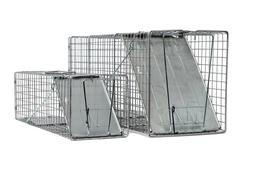 2 Fully Assembled Catch and Release Animal Traps Large: 32x1