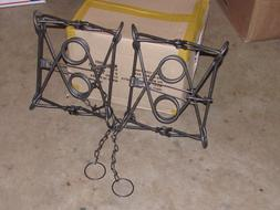2 New Duke 330 BODY TRAPS animal body traps/Beaver/ Otter tr