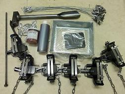 2 offset coil spring coyote trapping package