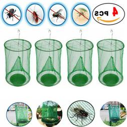 2Pcs The Ranch Fly Trap Reusable Fly Catcher Killer Cage Net