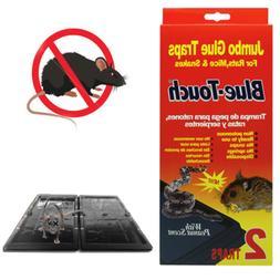 2 Pc Jumbo Glue Sticky Traps Rat Mice Snake Rodent Peanut Sc