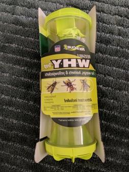 2 WHY trap: Wasps, Hornets, Yellowjackets - Reusable Rescue