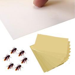 20Pcs Cockroach Roach Glue Traps Disposable Insect Pest Cont