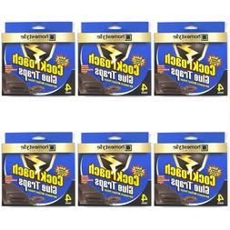 24 PACK COCKROACH STICKY GLUE TRAPS Bug Insect Pest Control