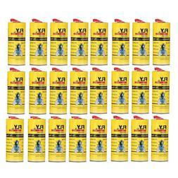 24Pcs Insect Glue Tape Strips Sticky Fly Paper Eliminate Fli