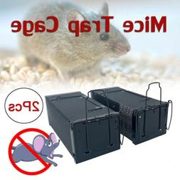 2Pcs1-Door Defenders Animal Trap Medium Size Cage Humane Rat