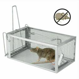 2X Small Live Game Animal Trap 1 Door Chipmunk & Squirrel Tr