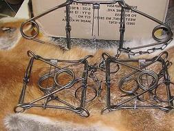 3 160 body traps raccoon muskrat mink