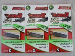 3-Pack Tomcat Professional Strength Glue Traps Rat Size 2 Tr