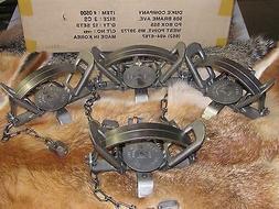 4 3 coil spring traps beaver fox
