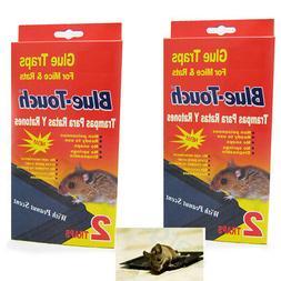 4 mouse traps sticky glue rat mice