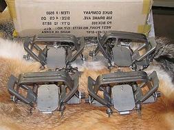 4 New Duke # 4 offset  4X4 Coil Spring Traps  Beaver Bobcat