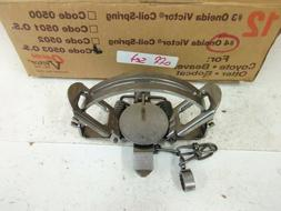 Oneida Victor #4 Offset Coil Spring Traps Trapping Coyote Bo