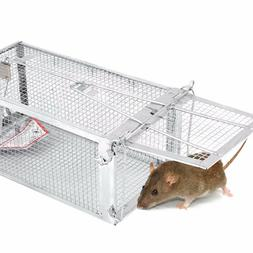 4 Pack Catch & Release Trap Humane Rat Traps Mouse Mice Rode