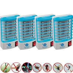 4Pcs Electronic Indoor Mosquito Killer Bug Zapper Insect Tra