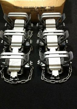 6 BRIDGER #2 DOGLESS OS 2 COIL TRAP COIL SPRING TRAPPING COY