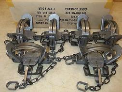6 New Duke # 1 3/4 OFFSET Coil Spring Traps 0476 Coyote Bobc