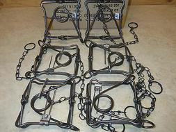 6 New Duke 110 Body Grip Traps Trapping Weasel Muskrat Mink