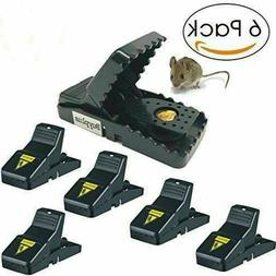 6 - Pack Mouse Traps Small Mice Traps Reusable Effective Ind