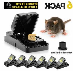 6-PACK Reusable MOUSE TRAPS Rat Trap Rodent Snap Trap Mice T