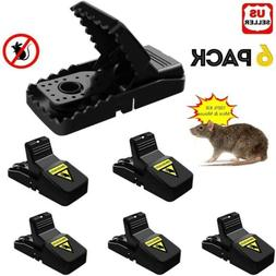 6 pack reusable mouse traps rat trap
