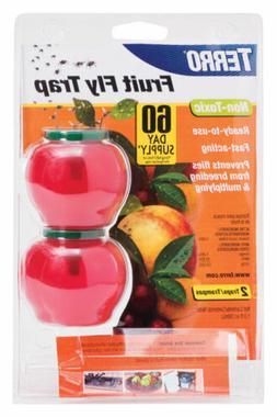 Woodstream Corp 6 Packs Terro2PK Fruit Fly Trap