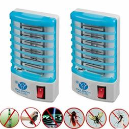 6pcs Indoor LED Electric Mosquito Fly Bug Insect Trap Zapper