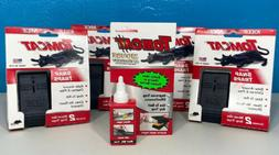 8 TOMCAT Mouse SNAP TRAPS with attractant gel No Touch Easy