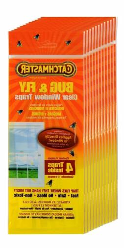 Catchmaster 904 Bug & Fly Clear Window Traps - 12 Traps, 3 P