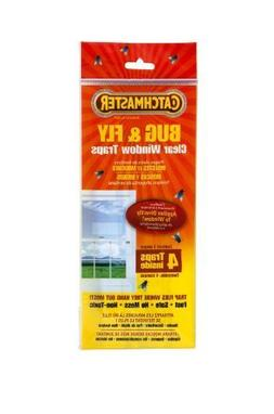 Catchmaster 904 Bug & Fly Clear Window Fly Traps - 3 Packs o