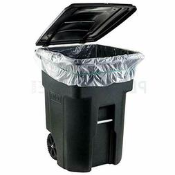 95-96 GALLON WHEELED TRASH CAN Lid Garbage Container Outdoor
