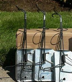 CINCH Traps-Medium Gopher Trap Kit: 3 Gopher traps with tunn