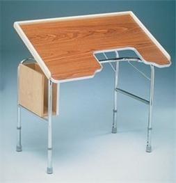 Height-Adjustable Tilt-Top Work Table Item # 7332
